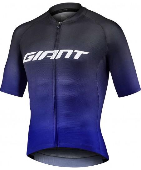Giant Race Day Short Sleeve Jersey Black/Blue