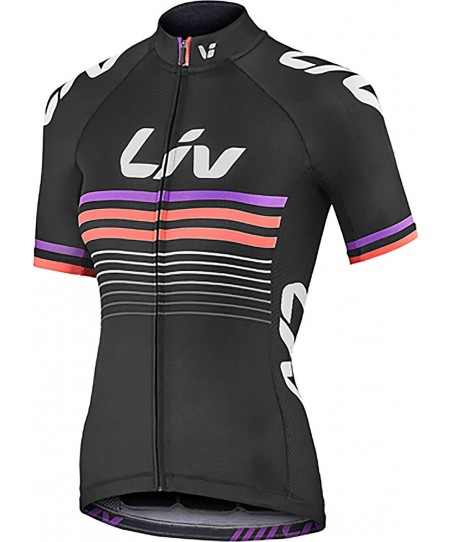 Liv Race Day Short Sleeve Jersey Black