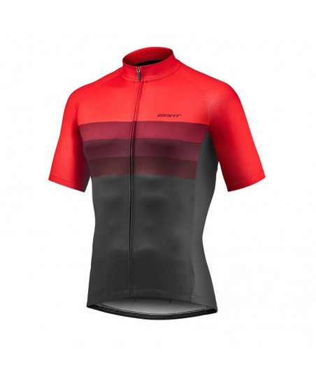 Giant Rival SS Jersey Red/Black