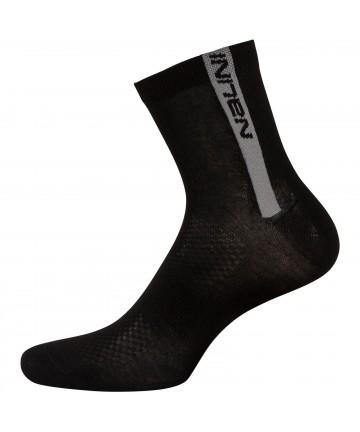 "Nalini ""Red Socks"" Black/Grey S/M"