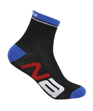 Nalini Logo Socks Black/Grey L/XL
