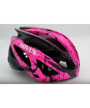 Novus Κράνος Ποδηλάτου Ενηλίκων Ροζ Μέγεθος 58-62 cm