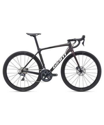 Giant TCR Advanced Pro 1 Disc KOM Ultegra Di2 Size Small 51/53 Rosewood/Carbon