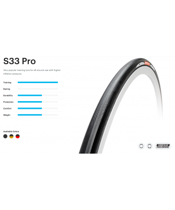 TUFO ROAD C S33 PRO 24mm CLINCHER