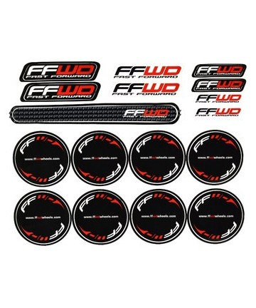 FFWD Valve Hole Decal Set for Disc Wheels