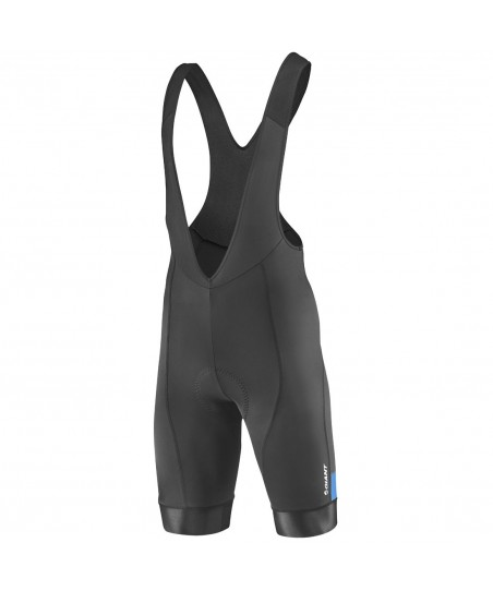 Giant Rival Bibshort Black/Cyan