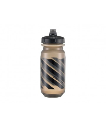 Giant Doublespring 600cc Water Bottle Transparent Black/Black
