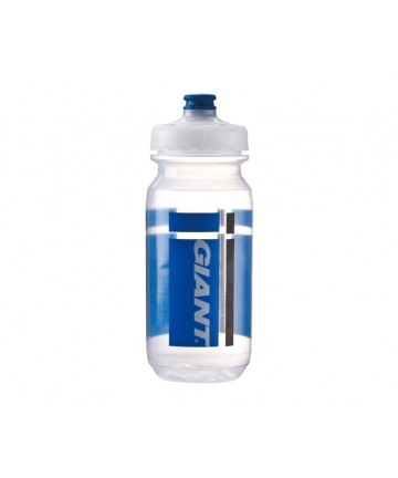 Giant Pour Fast Doublespring 600cc Water Bottle Transparent/Blue