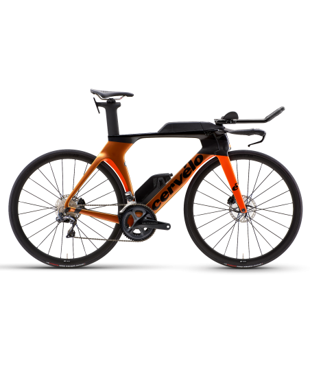 Cervelo P5 Disc Ultegra Di2 Orange Chameleon