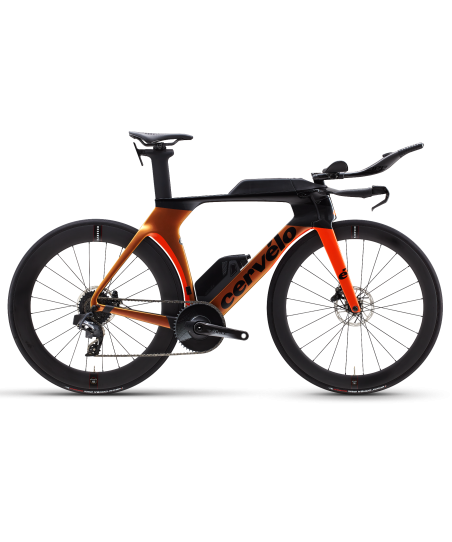 Cervelo P5 Disc Force eTap AXS 1 Orange Chameleon