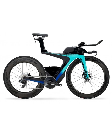 Cervelo PX-Series Disc Red eTap AXS 1 Light Teal/Mid Navy