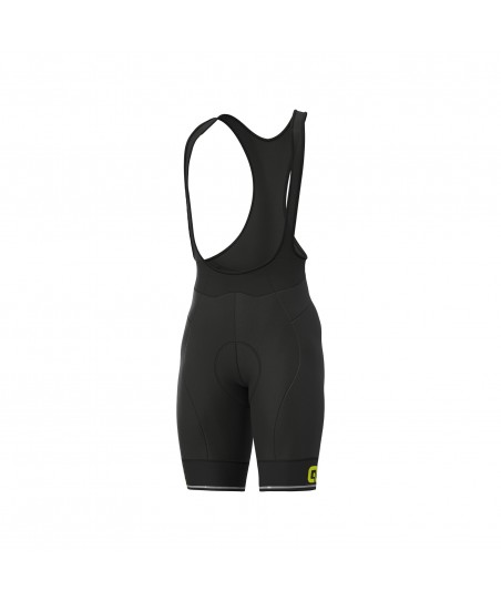 Ale Solid Corsa Bibshort Fluo Yellow
