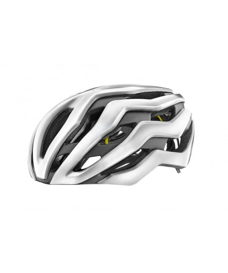 Giant Rev Pro MIPS Helmet Gloss Metallic White