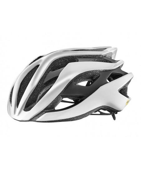 Giant Rev MIPS Helmet Metallic White/Matte Black