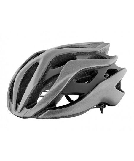 Giant Rev Helmet Metallic Silver/Matte Black