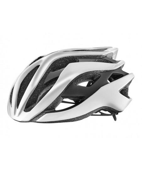 Giant Rev Helmet Metallic White/Matte Black