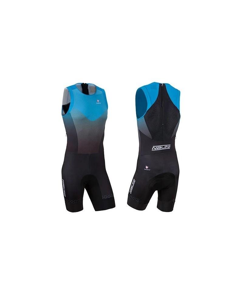 Nalini size L TRI Body Suit Μπλε Μαύρο