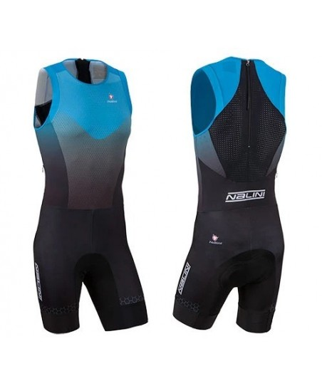 Nalini TRI Body Suit Μπλε Μαύρο