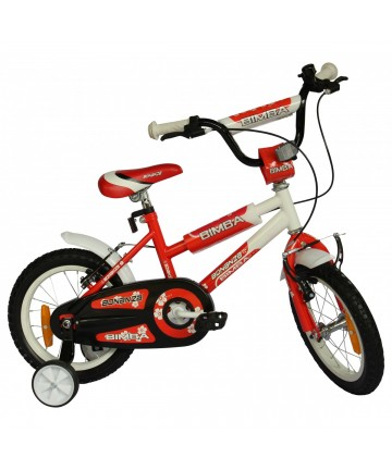 "Bonanza Bimba 14"" White/Red..."