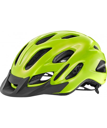 Giant Compel MIPS Helmet Gloss Fluo Yellow