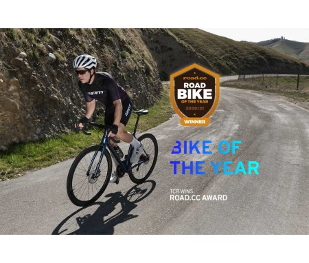 Το Road.cc δίνει το βραβείο bike of the year στο TCR  Advanced pro disc .